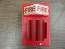 Simplex #2902-9739 Fire Alarm Speaker / Strobe Red Plastic - N.O. S. ?