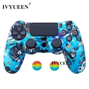 Dualshock 4  Controller Multicolor colorfull skin case for Sony PlayStation 4