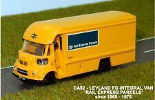 B.T MODELS 1:76 Scale OO Gauge (BASE TOYS) DA82 Leyland FG Van Rail Express