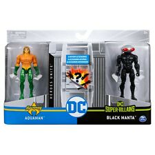 "Spin Master 2020 Dc Heroes Unite 4"" Action Figure - Aquaman vs. Black Manta"