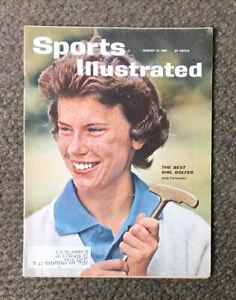 Vintage 1961 Sports Illustrated magazine Judy Torluemke Best Girl Golfer~Ty Cobb