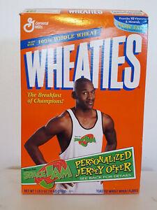 Michael Jordan SPACE JAM Wheaties Box 1997 EXCELLENT CONDITION Buggs Bunny