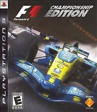 Formula 1 -- Championship Edition (Sony PlayStation 3, 2007)   F1