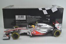 1/18 Minichamps Lewis Hamilton McLaren Mercedes MP4-27 2012