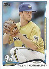 2014 Topps #578 Tyler Thornburg Milwaukee Brewers