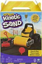 Kinetic Sand Pave & Play Construction Set Vehicle 8oz Black Natural Sand Jul.20