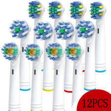 12PC Braun Oral B CROSS ACTION Replacement Electric Toothbrush Heads EB-18/25/50