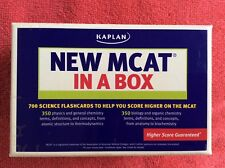 KAPLAN NEW MCAR IN A BOX FLASHCARDS 700 SCIENCE