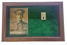 Large Medal Display Case For 2 Medals With Photograph