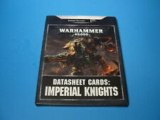 GW Warhammer 40K Data Sheet Cards: Imperial Knights e29