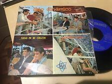 """DUO DINAMICO - YO RECORDARE 7"""" SINGLE EP VOZ DE SU AMO 64 FIRMADO CONTRAPORTADA"""