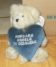 Boyds Bear Plush 6� Moms are Angels In Disguise Plush Stuffed Mother Heart
