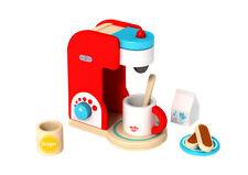 Wooden Coffee Machine Set | Pretend Play | Children Toddler | Kitchen | Tooky