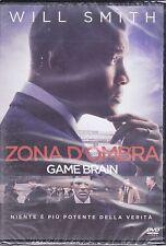 Dvd **ZONA D'OMBRA ~ GAME BRAIN** con Will Smith nuovo 2016