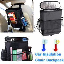 Car Seat Back Organizer Storage Bag Travel Pocket Holder Multi Auto Hanger USA