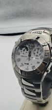Chronograph Sec Alarm Sector 750 White Dial Sapphire Crystal 100m Water...