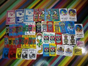 vtg 1980s Schmitt Stix skateboards sticker - Nolder, Lopes, Lucero, Grosso, +