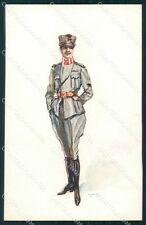 Militari Propaganda WWI Uniforme Esercito GMD cartolina XF0522