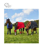 "Deluxe HORSE PONY SHOW TRAVEL FLEECE RUG 4'6""-7'0"" Stable Cooler FREE DELIVERY"