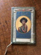 Calendarietto da barbiere - Aida 1932