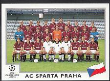 Panini Football Sticker - UEFA Champions League 1999-00 - No 239 - Sparta Praha