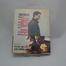 Jack Reacher: Never Go Back (2018, Blu-ray) Steelbook Korean Edition