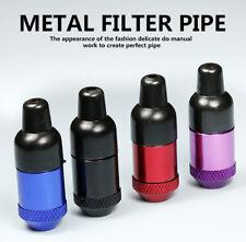 Portable Metal Mini Nipple Shape Smoking Pipe Tobacco Herb Pipes Creative Gift