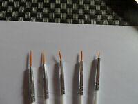 Pinceau pour dessin des ongles fin 5 pinceaux accessoire manucure nail art
