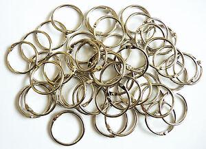 Metal Binding Rings in sizes 14-50mm and in Packs 4,10,20,50,100,250, 500 & 1000