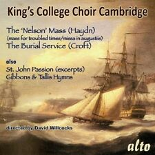 CD KINGS COLLEGE CHOIR CAMBRIDGE HAYDN  NELSON MASS BURIAL SERVICE WILLCOCKS