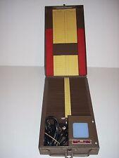 FODECO Lighted Viewer Metal  Slide File Case Model 155 Vintage Works