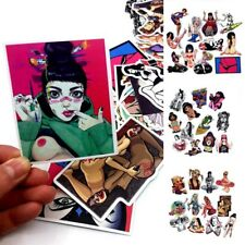Mix Lot 50 pcs Porn Stickers Skateboard Graffiti Laptop Luggage Car Decals