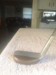 Golfcraft Frank Johnston Troon Off-Set Left Handed Mallet Putter ALL Original.