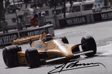 Jan Lammers  SIGNED, ATS-Cosworth D4  United States GP Long Beach 1980