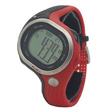 Nike Triax Fury 100 WR0140 012 Black Sport Red Chronograph Mens Digital Watch