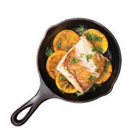 Cast Iron Egg Pancake Pan Frying Pot Electric Stove Gas Kitchen Camping 14cm