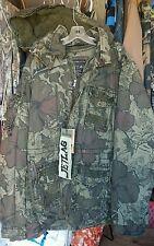 Mens/Womens NWT Jetlag Warm Lined Vintage Washed Jacket Coat XXXL