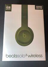 Beats by Dr Dre Solo3 Wireless On-Ear Headphone [ Neighborhood Turf GREEN ] NEW