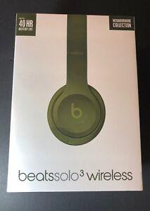 Beats by Dr Dre Solo 3 Wireless On-Ear Headphone [ Neighborhood Turf Green ] NEW