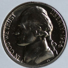 1966 Jefferson Nickel 5 Cent Coin from SMS Special Mint Set Five-Cents