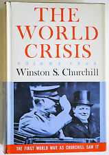 THE WORLD CRISIS VOLUME 4 BY WINSTON S. CHURCHILL *FIRST EDITION* 1955