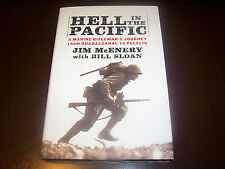 HELL IN THE PACIFIC U.S. Marines US Marine Corps Battle WWII Island War Book NEW