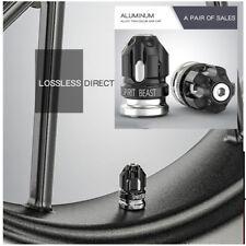 2pcs Motorcycle tire mouthpiece decoration CNC aluminum alloy creative Tire gas