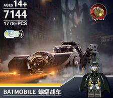 1778PCS Justice League Superhero BATMAN 🦇 ~ BATMOBILE Vehicle Building Blocks