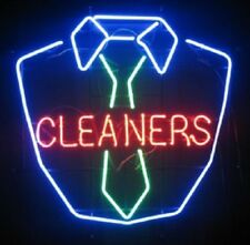 "New Dry Cleaners Laundry Open Neon Light Sign 20""x16"""