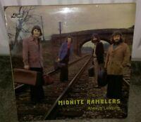 """The MIDNITE RAMBLERS """"Always Leaving"""" Scarce UK Vinyl LP - Folk Heritage FHR 097"""