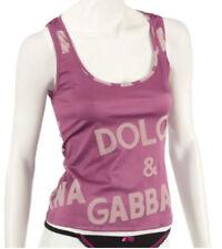 Dolce & Gabbana Branded Pink Top BNWT