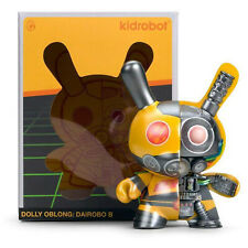 Kidrobot Dolly Oblong 5 Inch Diarobo Bee Dunny Figure  NEW