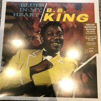 B.B King - Blues In My Heart, 180 Gram,Deluxe Gatefold Vinyl Lp, New & Sealed