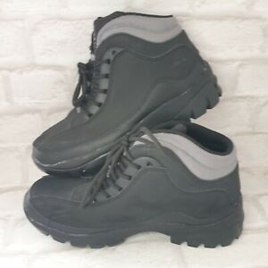 Groundwork Safety Work Boots UK SIZE 6 EU 40 Leather Steel Toe Work Shoes Hiker